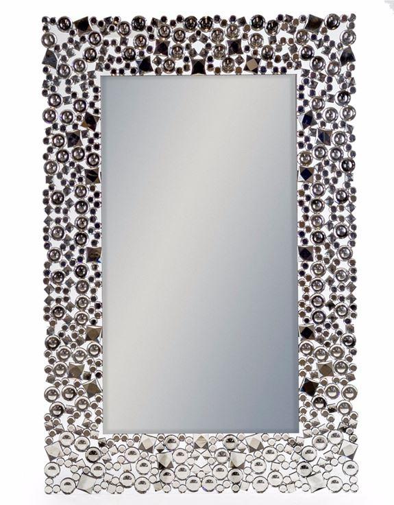 Contemporary Round Venetian Wall Mirror Bevelled Detailing Mcru
